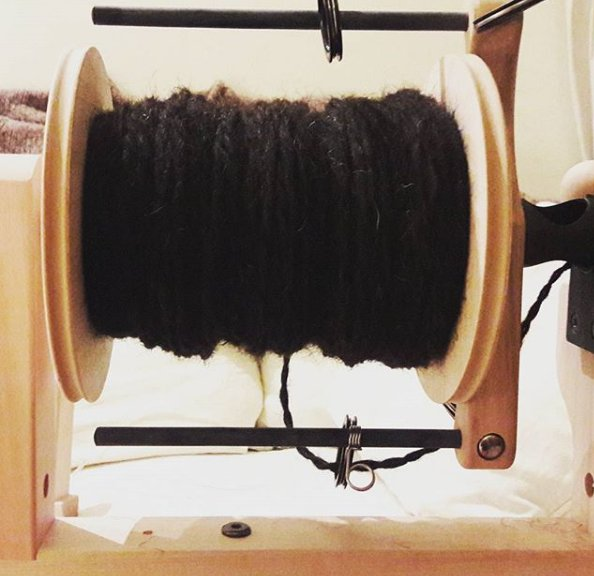 Spinning Chunky Yarn