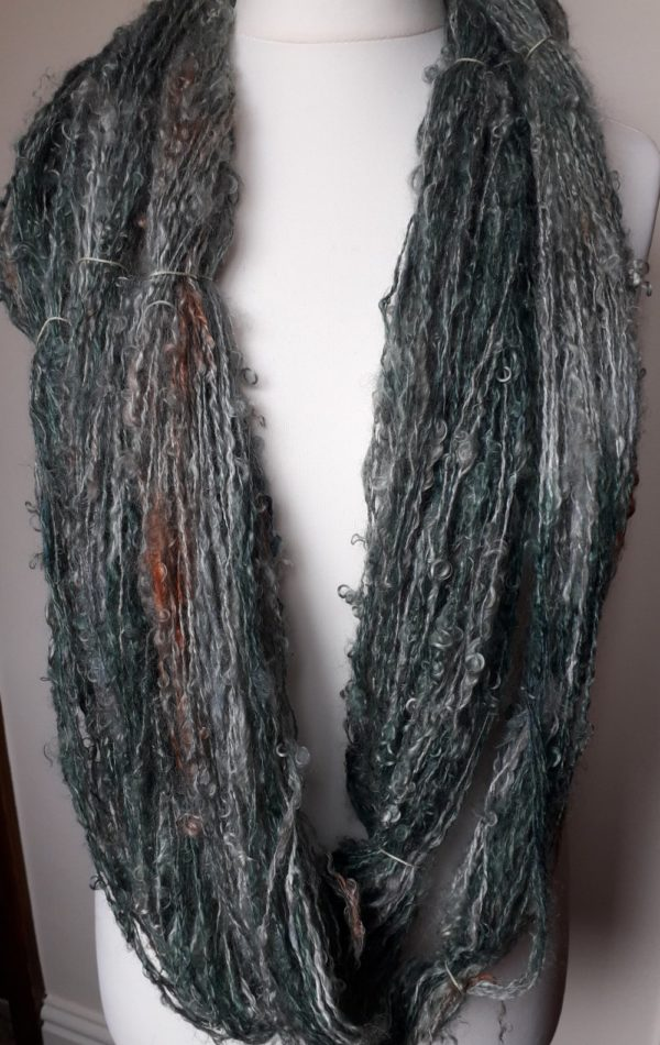 Handspun Artyarn Mohair and Silk
