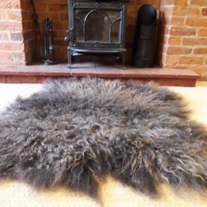Vegetarian Sheepskin Rug - Hebridean Fleece