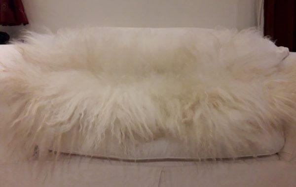 Icelandic Fleece Wool Throw