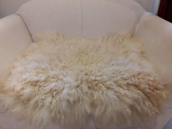 Masham Sheep Fleece Throw - British Wool
