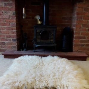 Masham Vegetarian Sheep Skin Rug